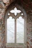 8παράθυρο μεσαιωνικού κάστρου — 图库照片