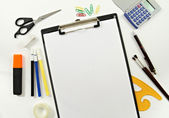 Designer and Stationery Materials — Stock Photo