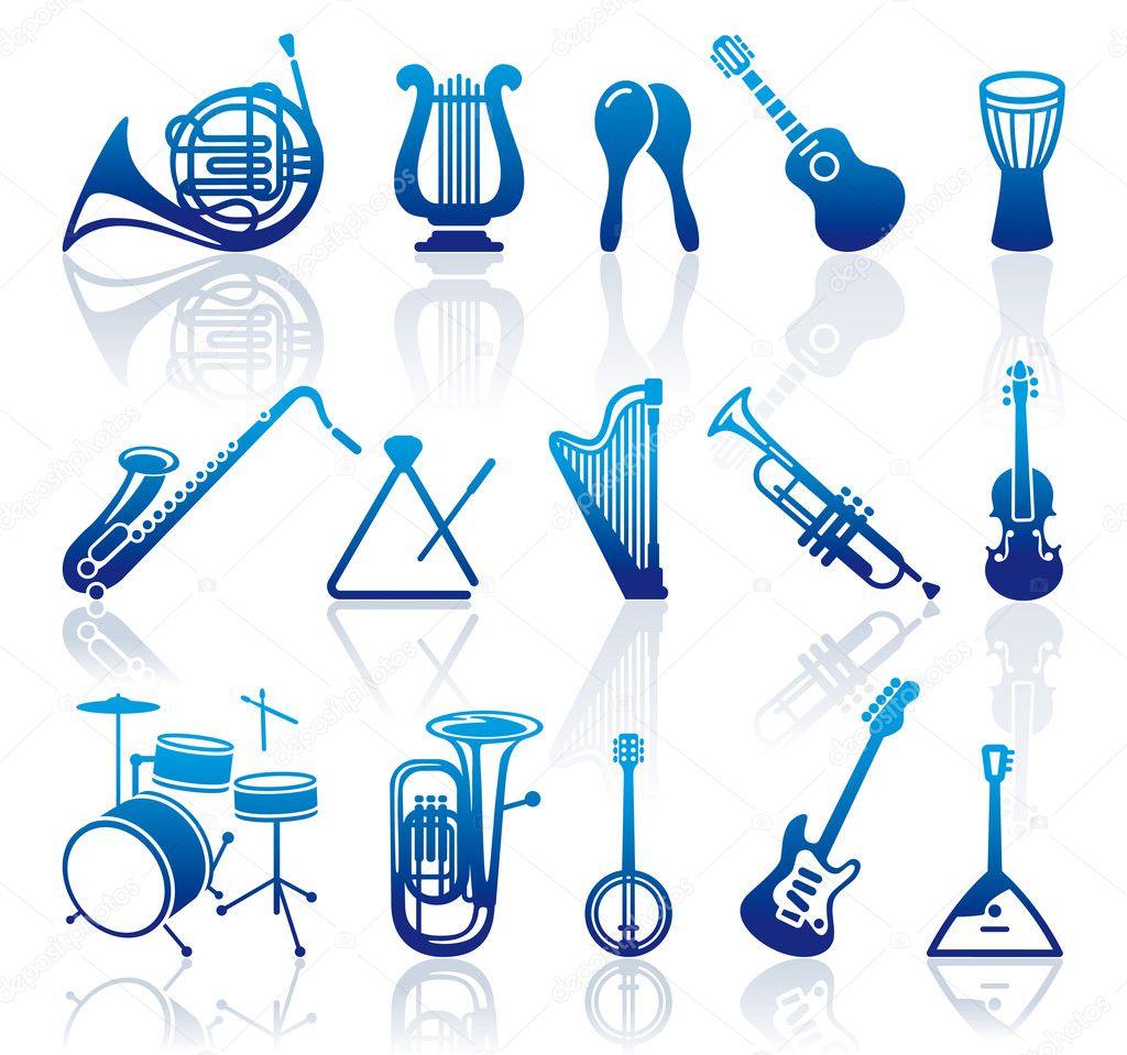 музыкальные иконки: