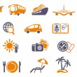 Travel Icons — Stock Vector #9656058