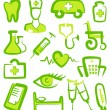 Medical icons — Stock Vector #9793983