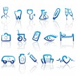 Medical icons — Stock Vector #9794148