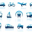 Transport icons — Stock Vector #9794164