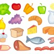 Food icons — Stock Vector #9794460