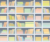 Book background — Stock Vector