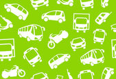 Background of motor transport — Stock Vector