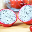 Pitaya pitahaya or dragon fruit - Stock Photo