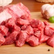 Beef on cutting board - Lizenzfreies Foto