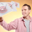 Stockfoto: Flying emails