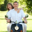 Couple riding — Stock Photo #9741352