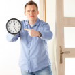 You are late — Stock Photo