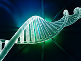 DNA strand modern design — Stock Photo