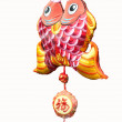 Chinese traditional sachet, New Year's mascot, Clifford — Stock Photo