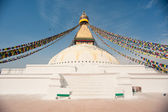 Boudnath stupa — Stock Photo