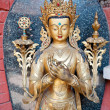 Nepal statues, temples and decorative arts - Stock Photo