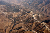 Aerial photography, the Himalayan Hengduan Mountains — Stock Photo