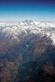 Everest,the Himalayan Mountains — Stock Photo