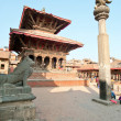 Nepal DUBA square - Stock Photo