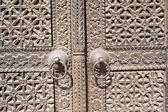 Wooden Texture of a Door — Stock Photo