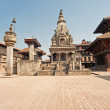 Stock Photo: Bhaktapur Durbar Square