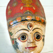 Masks, pottery,souvenirs, Nepal — Stock Photo #9838086