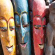 Masks, pottery,souvenirs, Nepal — Stock Photo #9838556