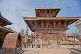 Nepal,Changu Narayan temple — Stock Photo