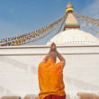 The shaman stupa pilgrimage — Stock Photo
