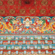 Mural,Nepal, the temple wall murals — Stock Photo