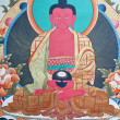 Thangka, Tibetan painting — Stock Photo