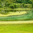 Sichuan, China, highland lakes — Stock Photo
