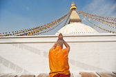 A peregrinação de stupa do xamã — Foto Stock