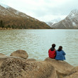 Ganzi Prefecture, Sichuan Province, the new road sea lake — Stock Photo