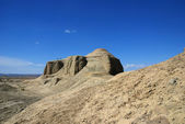 Xinjiang, China, desert Tucheng — Stock Photo