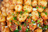Fried potatoes, China's sichuan snack — Stock Photo