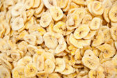 Banana chips, China's sichuan snack — Stock Photo