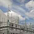 New family houses under construction - Stock Photo