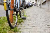 Bike detail — Stock Photo