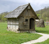 Traditional house from east Europe — Stock Photo