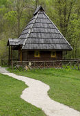 Traditional house from Bosnia — Stock Photo