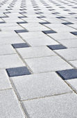 Patio blocks — Stock Photo