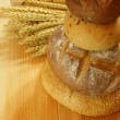 Royalty-Free Stock Photo: Assorted bread tower