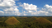 Chocolate hills, Bohol, Philippines — Stock Photo
