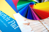 Coloring plan — Stock Photo