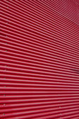 Textured Background of Red Corrugated wall — Stockfoto