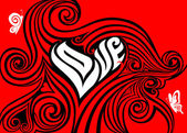 Valentines concept — Stock Vector