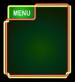 Tableau de menu — Vecteur