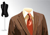 Tailoring shop — Stock Vector