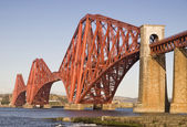 Forth Rail Bridge, Edinburgh, Scotland — Stock Photo