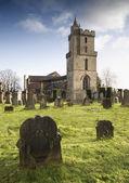 スコットランドの墓地と墓石 — ストック写真